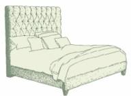 Single Lismore Bed