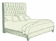Small Double Lismore Bed