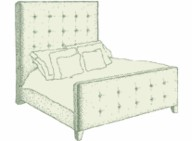 Small Double Mull Bed