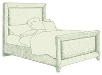 Small Double Ghia Bed