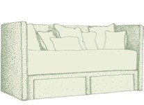 Single Lundy Daybed