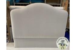 Single Caldey Headboard Metallic Ground Pearl EX