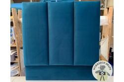 Single Taransay Headboard Highland Plain Teal EX