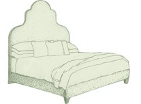 Small Double Eigg Bed
