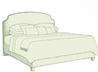 Kingsize Puffin Bed