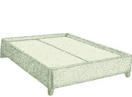 Double Guernsey Bed Base