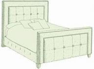 Small Double Jura Bed