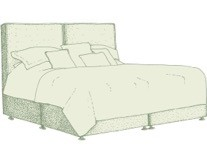 Kingsize Coll Bed