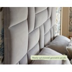 Small Double Bute Headboard