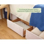 Super King Jersey Divan and Mattress Set