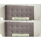 Small Double Winged Mull Headboard