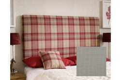 EX Kingsize Arran Headboard Cotton Dove