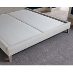 Super King Tiree Bed House Chenille Stone EX