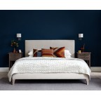 Super King Arran Bed House Chenille Stone EX