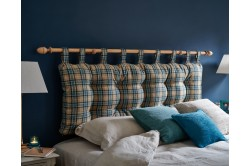 Super King Sheppey Headboard Heritage Wool Teal EX