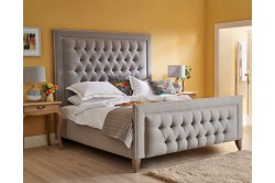 Superking Easdale Bed Faux Wool Grey EX