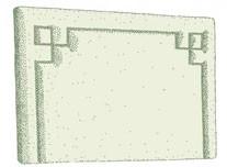 Small Double Eriskay Headboard