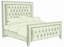 Super King Easdale Bed
