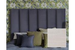 Kingsize Taransay Headboard House Weave Light Grey EX