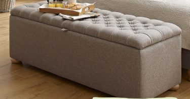 matching ottoman for your headboard