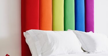 THW - Taransay Headboard - Multi Colour Wool, 45ins - Wizard of Oz Theme - LOW RES 1