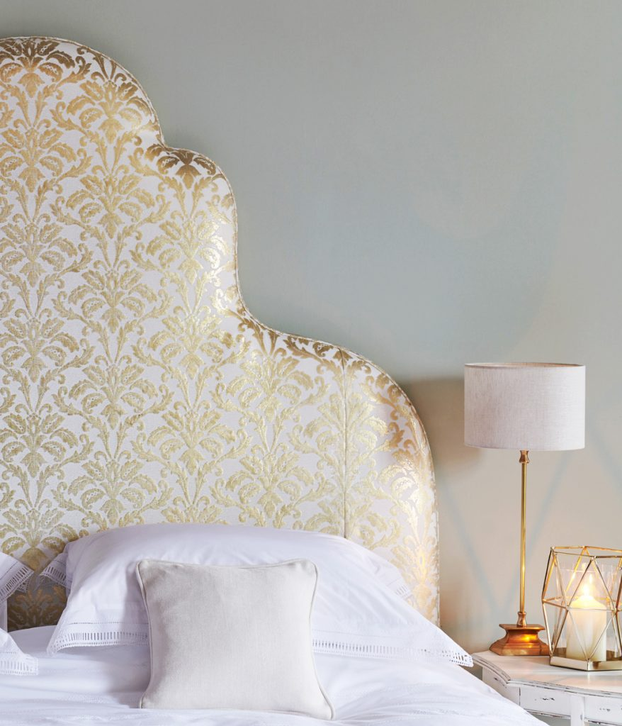 large tall headboard
