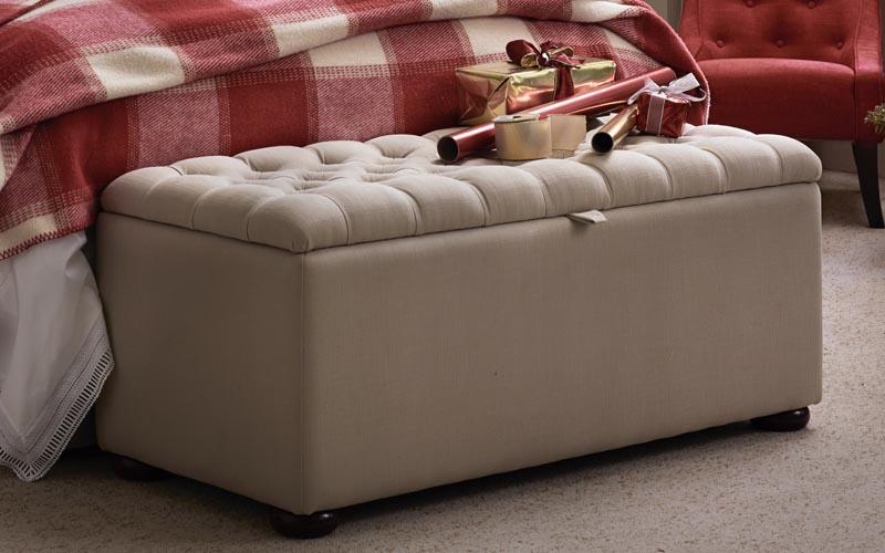 Upholstered Storage Ottomans