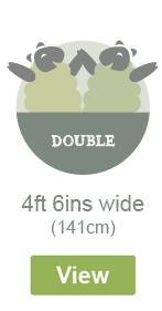 Double Width - 4ft 6ins Wide - 141cm