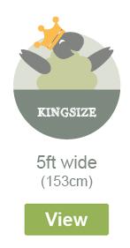 Kingsize Width - 5ft Wide - 153cm