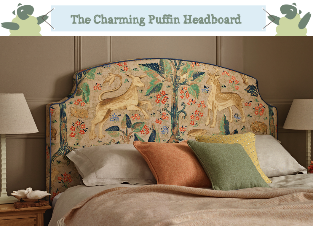 Puffin Curved Headboard The Headboard Workshop Bedroom Design Advice