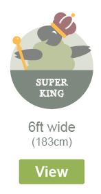 Super King Width - 6ft Wide - 183cm
