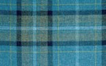 Highland Check Royal Aqua
