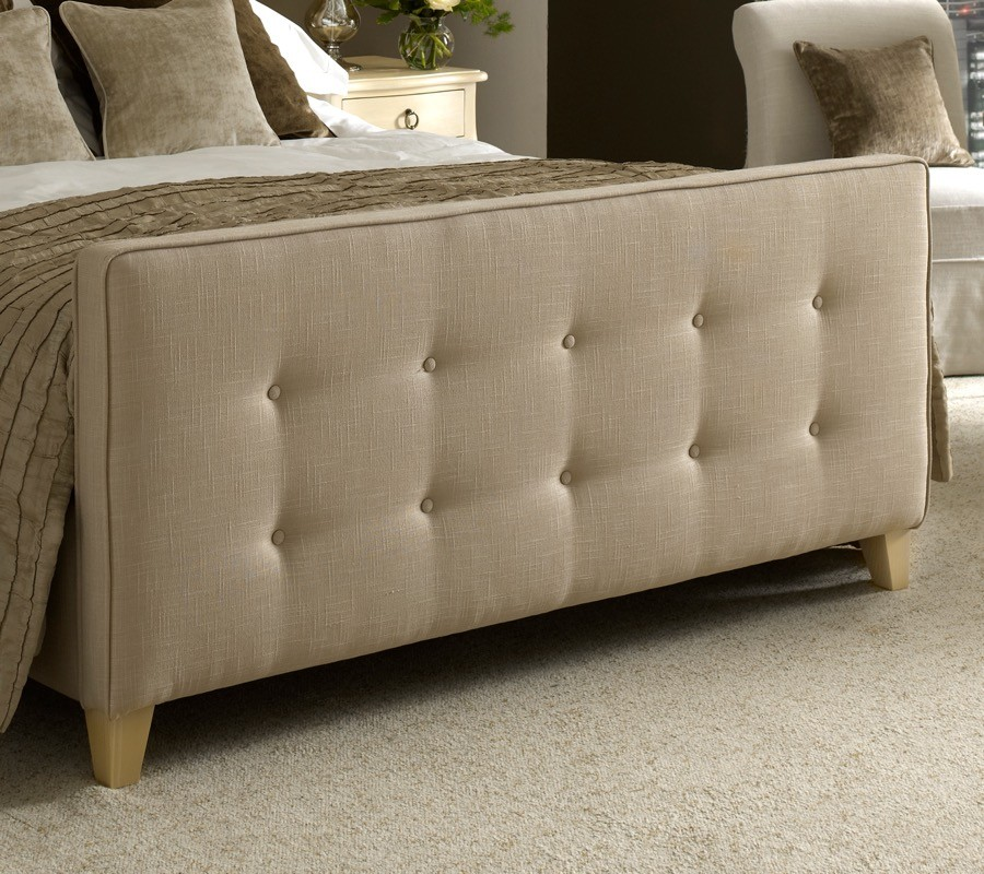 High Buttoned Footboard